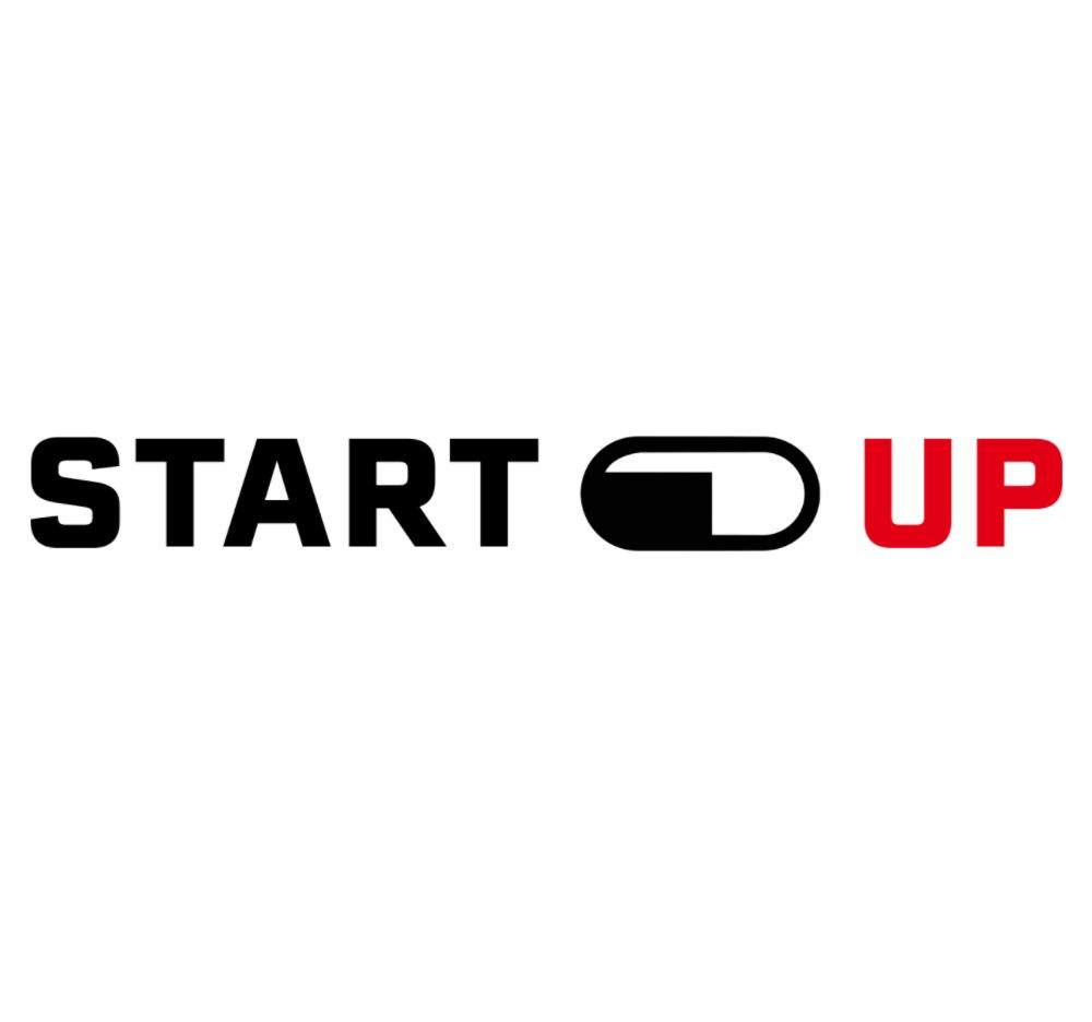 Startup pill logo